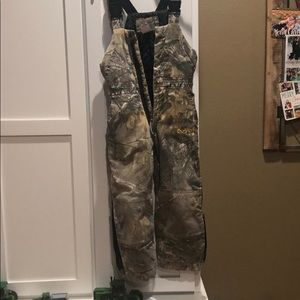 Real tree camo coveralls